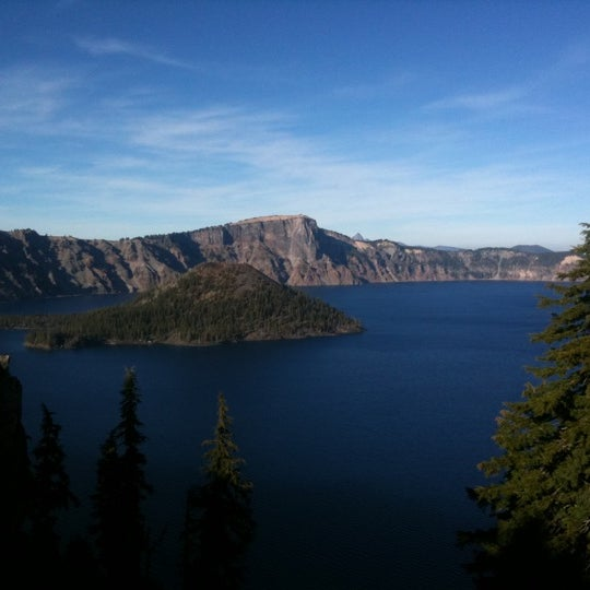 Photo taken at Crater Lake National Park by Chad W. on 11/1/2011