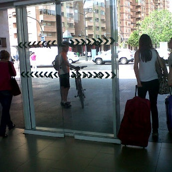 Photo taken at Estació de Tren - València-Cabanyal by Paloma M. on 5/27/2012