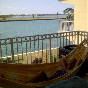 Photo taken at Miami Bay's Paradise Island by Yanina B. on 4/12/2012