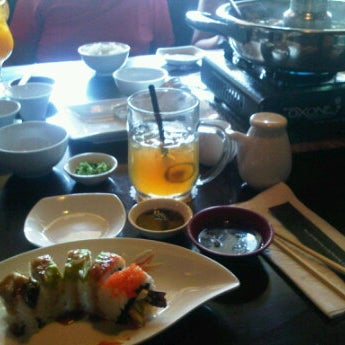 Photo taken at Nori The Japanese Kitchen Lounge by Nicole W. on 10/1/2011
