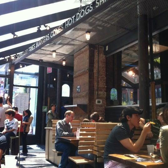 Photo taken at Shake Shack by Liselotte R. on 4/19/2012