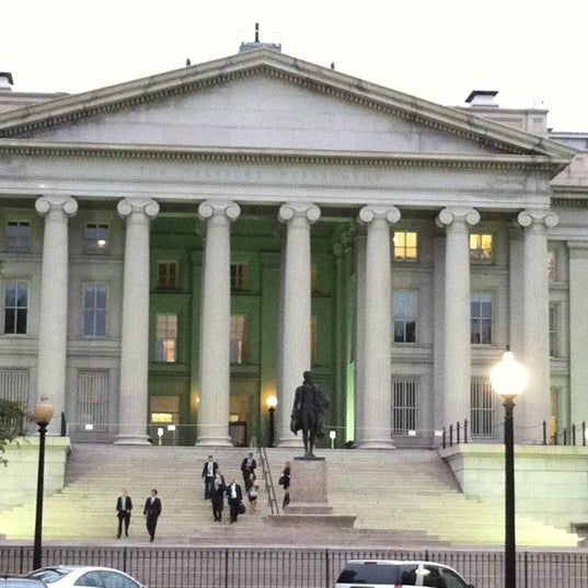 Photo taken at US Department of the Treasury by Danna D. on 9/22/2011