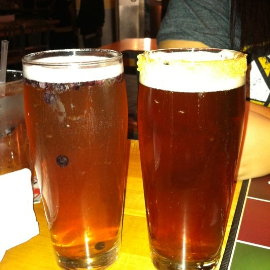 Photo taken at Boston Beer Works by Jonathan F. on 10/18/2011