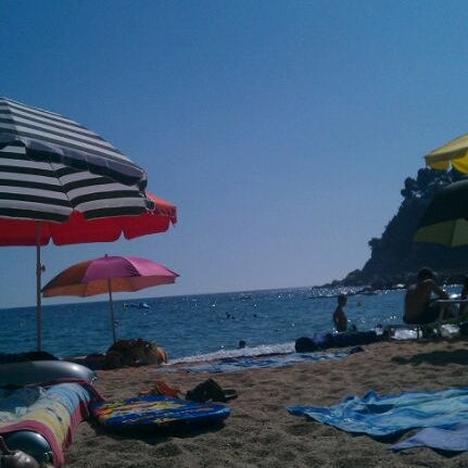 Photo taken at Cala Canyelles by Òscar P. on 8/20/2011