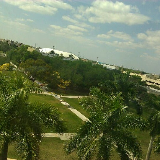 Photo taken at NSU: Alvin Sherman Library by James C. on 3/12/2011
