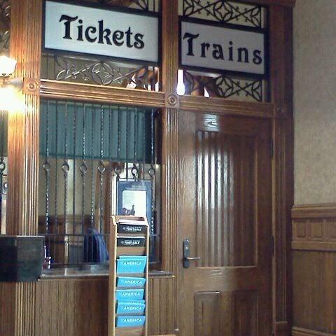 Photo taken at Kalamazoo Transportation Center - Amtrak (KAL) by Pam B. on 5/14/2012