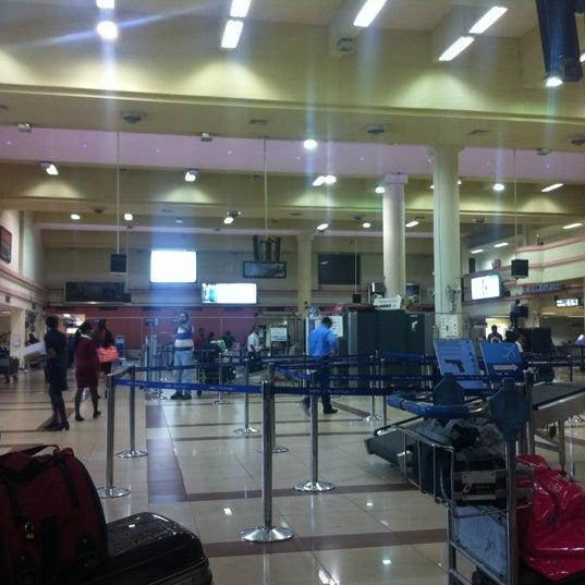 Photo taken at Dabolim Goa International Airport (GOI) by Abhishek B. on 8/28/2012