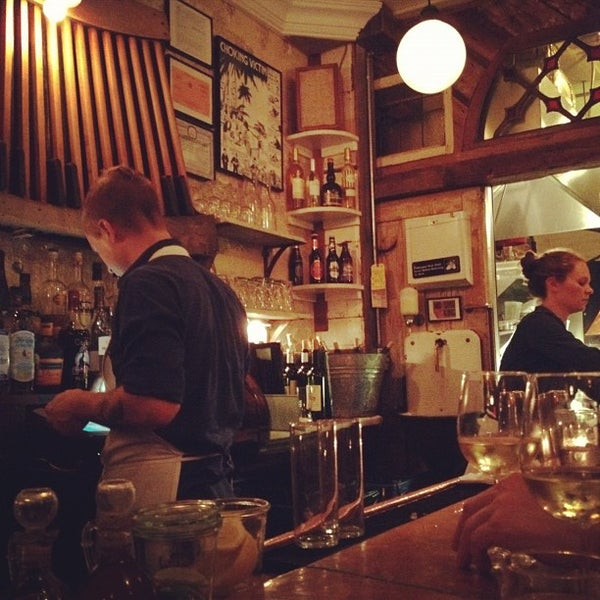 Photo taken at Vinegar Hill House by Rich K. on 7/4/2012