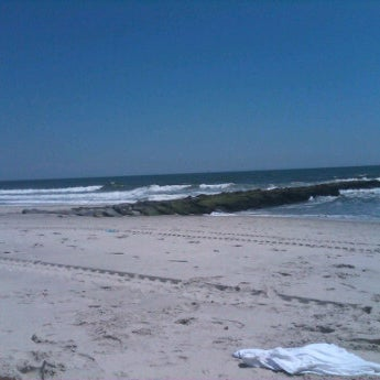 Photo taken at East Atlantic Beach by the chillEmpress on 6/2/2012