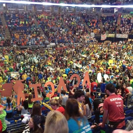 Photo taken at Bryce Jordan Center by Ben L. on 2/18/2012
