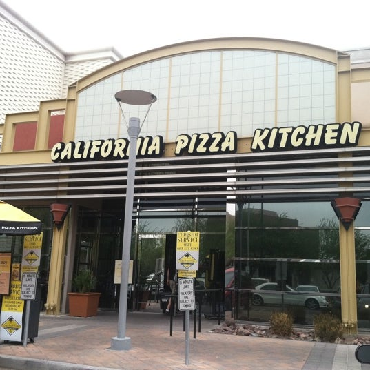 California Pizza Kitchen Camelback East Phoenix Az