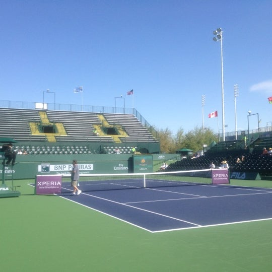 Photo taken at Indian Wells Tennis Garden by Chris L. on 3/6/2012