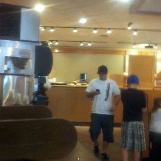 Photo taken at Panera Bread by Jack F. on 3/27/2012