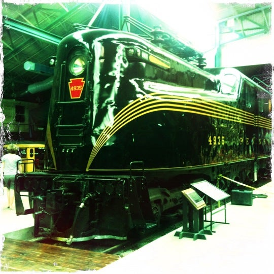 Photo taken at Railroad Museum of Pennsylvania by Sean R. on 8/18/2011