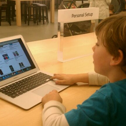 Photo taken at Apple Friendly Center by Laura G. on 1/7/2012