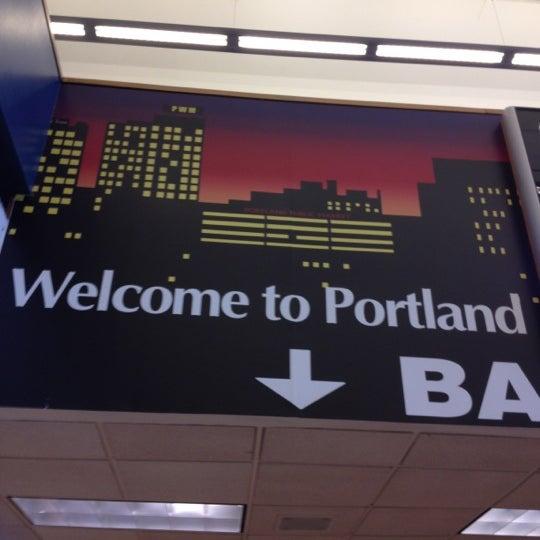 Photo taken at Portland International Jetport (PWM) by Tara M. on 8/15/2012