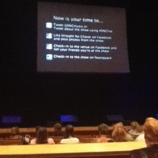 Photo taken at Curtis M. Phillips Center for the Performing Arts by Jack C. on 5/13/2012