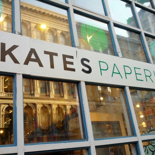 Kate 39 s paperie now closed arts crafts store in new york for Art and craft stores nyc