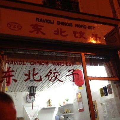 Photo taken at Raviolis du Nord-est de la Chine by Massimiliano M. on 9/3/2012