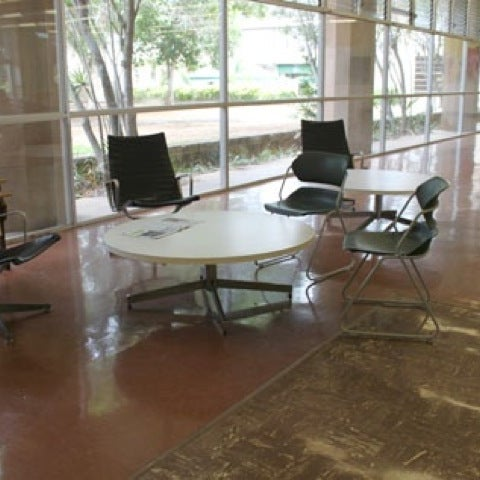 Photo taken at Study Lounge (Sinclair Library) by Philip W. on 10/14/2011
