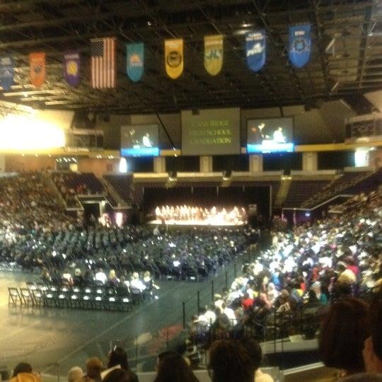 Photo taken at Allen Arena by Bre'Anna J. on 5/19/2012