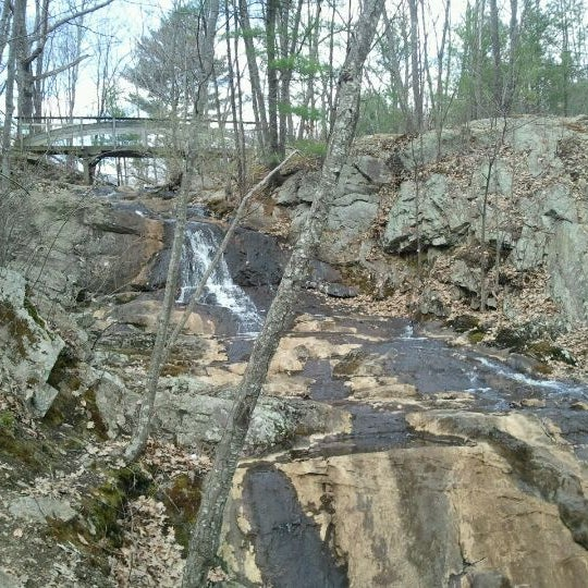 Photo taken at Jewell Falls by Bryan M. on 4/4/2012