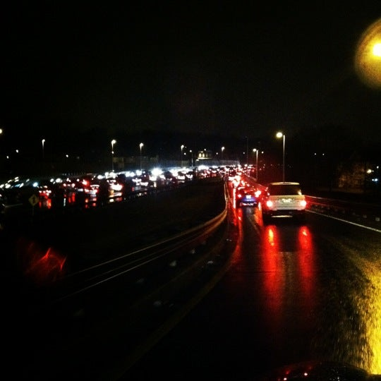 Photo taken at Garden State Parkway -- Saddlebrook by Sussan L. on 1/26/2012