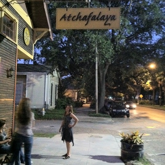 Photo taken at Atchafalaya Restaurant by Cindy E. on 7/21/2011