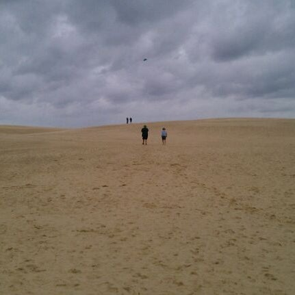 Photo taken at Jockey's Ridge State Park by Jeff C. on 9/16/2011