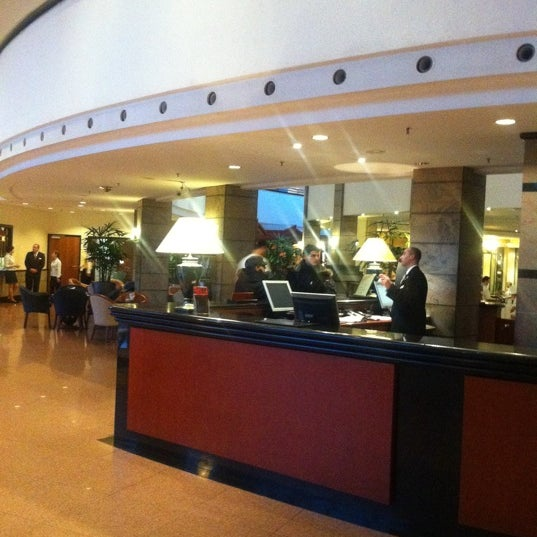Photo taken at Kempinski Hotel Corvinus Budapest by [Princess] on 1/16/2011