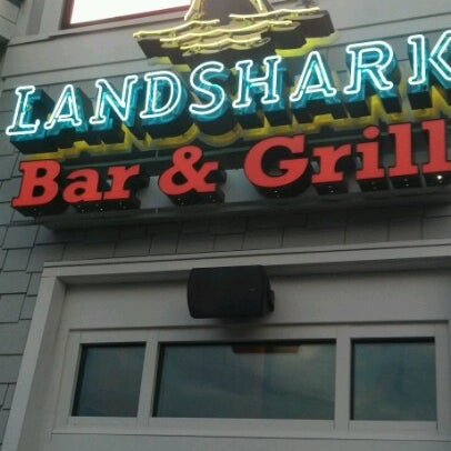 Photo taken at Landshark Bar & Grill by Rodney W. on 7/3/2012