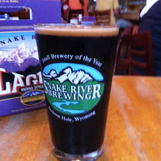 Photo taken at Snake River Brewery & Restaurant by Nancy C. on 9/12/2011