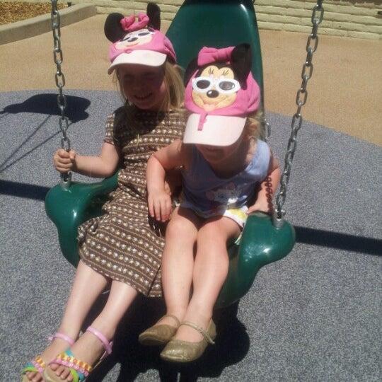 Photo taken at Burton Park by Miss Courtney G. on 7/10/2012