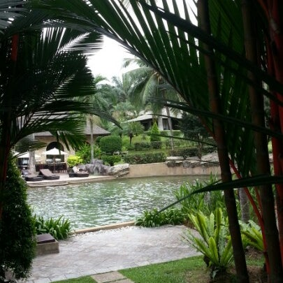 Photo taken at Cyberview Lodge Resort & Spa by Faiz S. on 9/8/2012