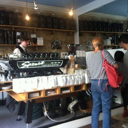 Photo taken at Bonanza Coffee by Jan on 6/14/2012