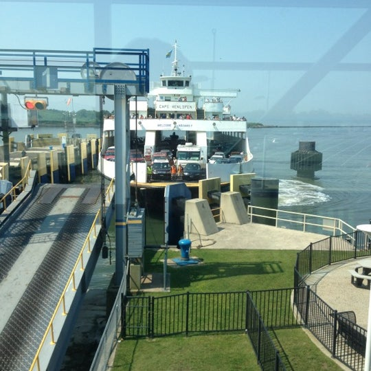 Photo taken at Cape May-Lewes Ferry | Cape May Terminal by Dan H. on 6/21/2012