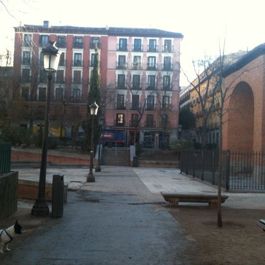 Photo taken at Plaza del Dos de Mayo by Apunto L. on 1/3/2012