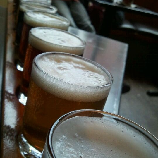 Photo taken at Portsmouth Brewery by Tim D. on 1/8/2012
