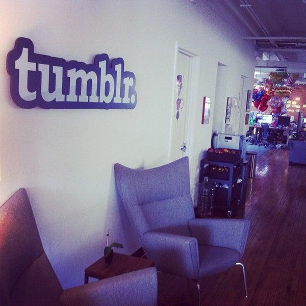 Photo taken at Tumblr HQ by Matt V. on 5/17/2012
