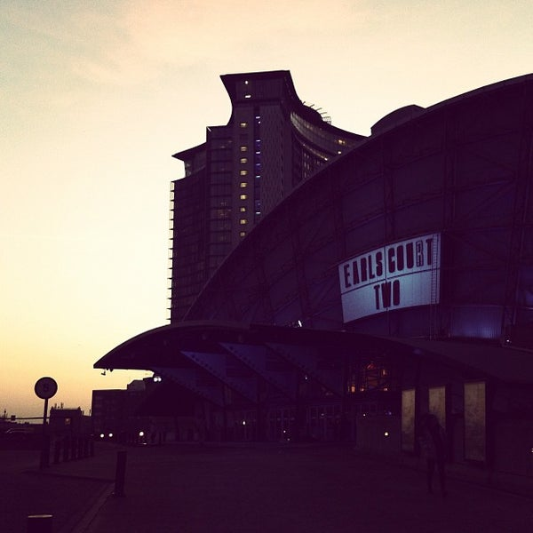 Photo taken at Earls Court Exhibition Centre by Carl S. on 3/12/2012