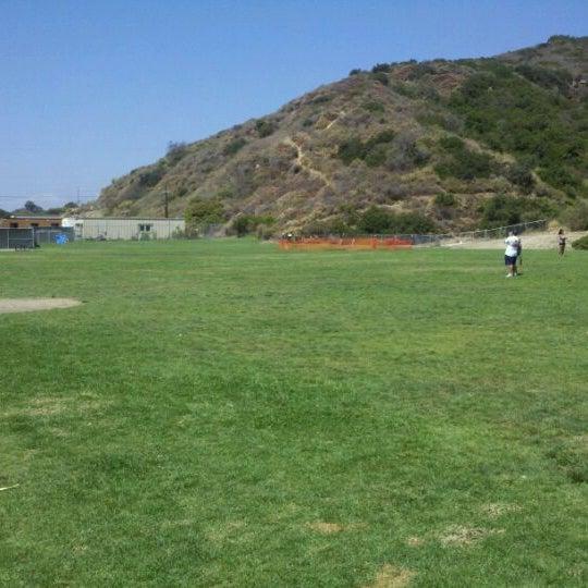 Photo taken at Laguna Canyon Dog Park by Jean C. M. on 8/13/2011