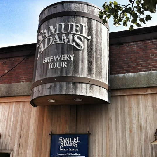 Photo taken at Samuel Adams Brewery by Michael D. on 8/25/2012