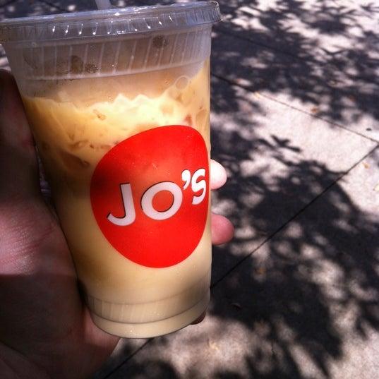 Photo taken at Jo's Coffee by John M. on 3/11/2012