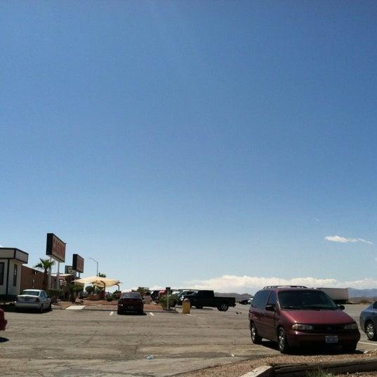 Photo taken at Moapa Paiute Travel Plaza / Chevon Gas by David W. on 4/15/2012
