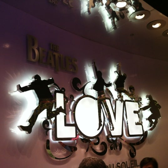Photo taken at The Beatles LOVE (Cirque Du Soleil) by Renata O. on 3/4/2012
