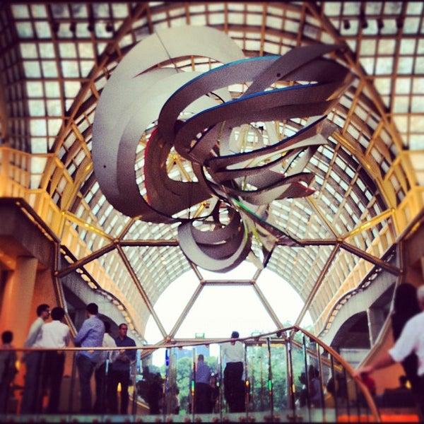 Photo taken at The Ritz-Carlton, Millenia Singapore by Jonathan B. on 3/14/2012