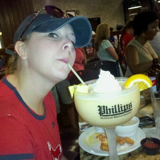 Photo taken at Phillips Seafood by TheIncident on 7/5/2011
