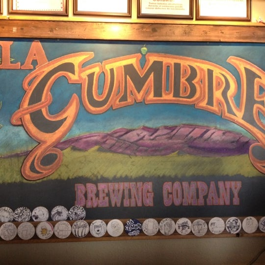 Photo taken at La Cumbre Brewing Company by Kevin M. on 8/17/2012