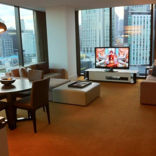 Photo taken at Crown Metropol Hotel by Kerry C. on 7/5/2012