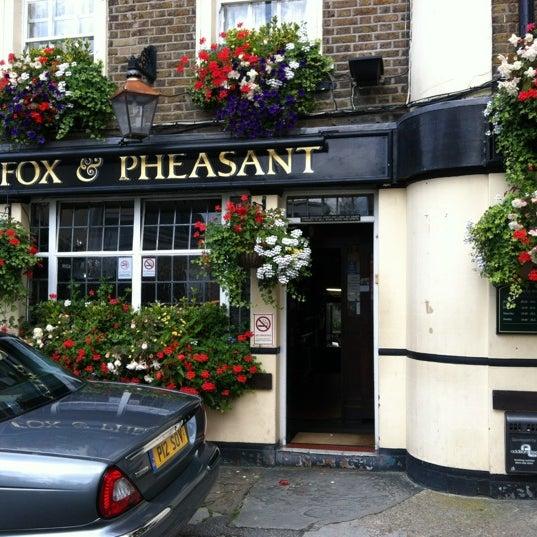 Fox pheasant pub in west brompton for The pheasant pub london